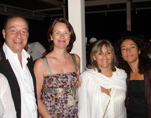 H. Chemla (Européenne d'assurance), Godeleine Verin et Anne Bouferguene