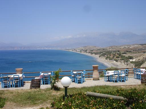Matala Bay sur la côte sud