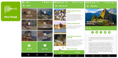 Peru_Travel est la nouvelle application mobile gratuite de PromPerù - DR : PromoPerù