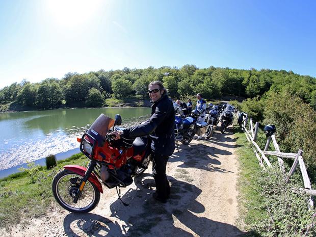 Petite pause dans le Parco Naturale dei Nebrodi pour profiter de ce décor magnifique - DR : G.S