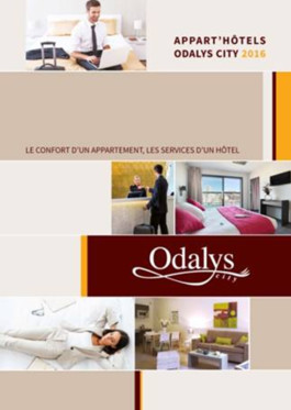 La brochure Odalys baptisé City - Photo Odalys