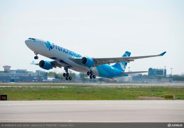 French Blue a ouvert les ventes de ses vols Paris - Punta Cana et a dévoilé sa politique tarifaire Airbus SAS 2016 Photo by P. Pigeyre / Master Film