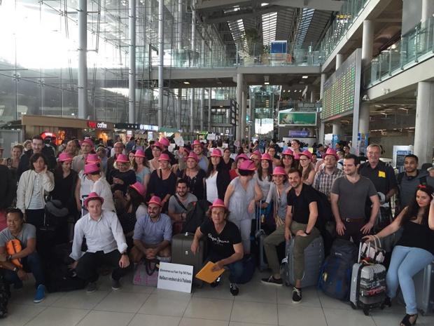 Les 50 agents de voyages sont arrivés à Bangkok ce mardi 7 juin 2016 - DR : Climats du Monde