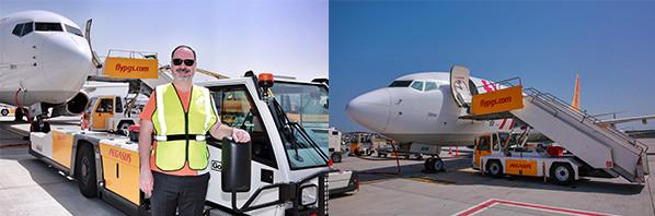 C'est le personnel de Pegasus Airlines qui gère les opérations au sol de la compagnie aérienne à Istanbul depuis le 1er juin 2016 - Photo : Pegasus Airlines