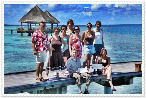 Austral-Lagons : éductour 5 étoiles aux Maldives pour 6 AGV