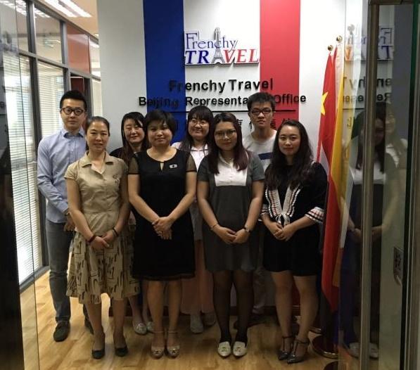 L'équipe de Frenchy Travel en Chine, à Pékin - Photo Frenchy Travel