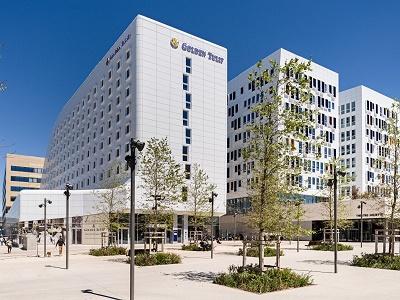 Le Golden Tulip Marseille Euromed compte 210 chambres sur 9 étages - Photo : Louvre Hotels Group