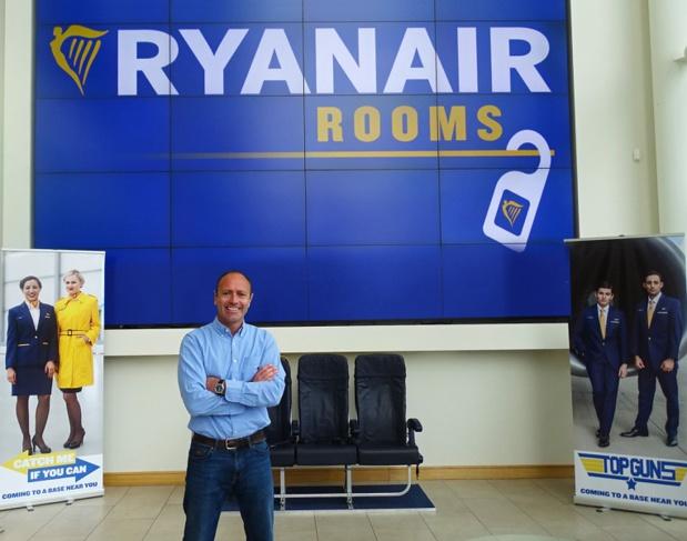 """Ryanair invite les founirsseurs d'hébergements à proposer leurs offres pour """"Ryanair Rooms"""" - Photo : Ryanair"""