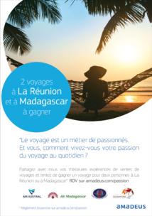 Gagnez un voyage à La Réunion ou à Madagascar avec Amadeus