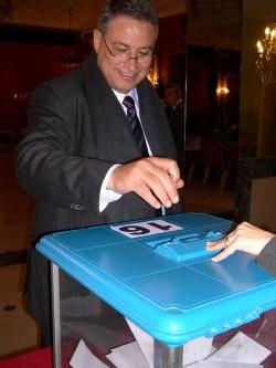 Mumtaz Teker, vice-président du Snav
