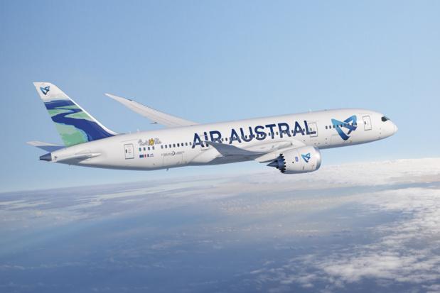 Le nouvel avion d'Air Austral aux couleurs de Mayotte. DR Air Austral