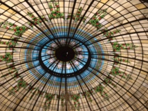 L'imposante coupole de verre du Westin Palace - DR : J.-P.C.