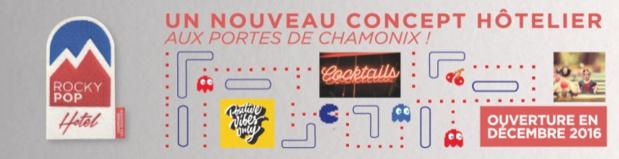 Chamonix : le RockyPop Hotel ouvrira ses portes en décembre 2016