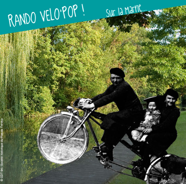 Val-de-Marne: Vélo Pop Tours along the water in July