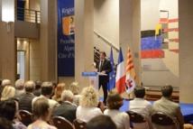 Christian Estrosi a lancé le schéma régional du tourisme de PACA mercredi 15 juin 2016 à Marseille - Photo : DR