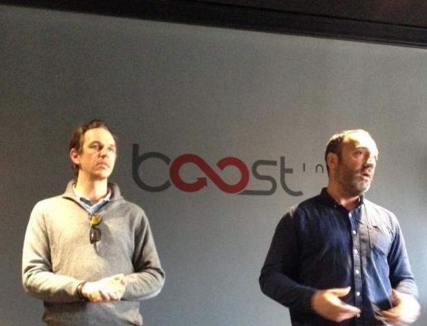 Les fondateurs de Boost-inn, Bahadour Moussa et Olivier Sivriere - DR: Boost-Inn