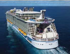Marseille accueillera l'Harmony of the Seas pour la première fois mardi 21 juin 2016 - Photo : Royal Caribbean International