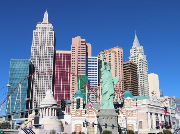 Las Vegas, plantée au milieu du désert, est un mirage devenu réalité - DR : J.-F.R.