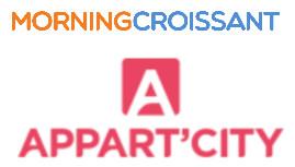 Meublés : MorningCroissant et Appart'City veulent développer ensemble les moyens-séjours