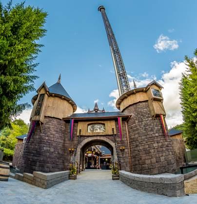 Le Donjon de l'Extrême est l'une des deux nouvelles attractions de Nigloland pour l'été 2016 - Photo : Nigloland