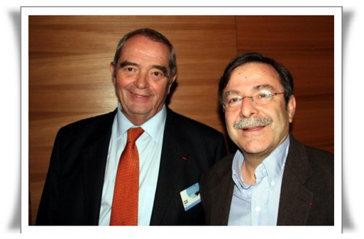 Georges Colson et Antoine Cachin