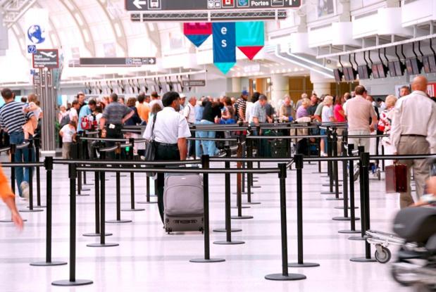 La majorité des voyageurs européens préfère procéder à leur enregistrement au comptoir, à l'aéroport - Photo : Elenathewise-Fotolia.com