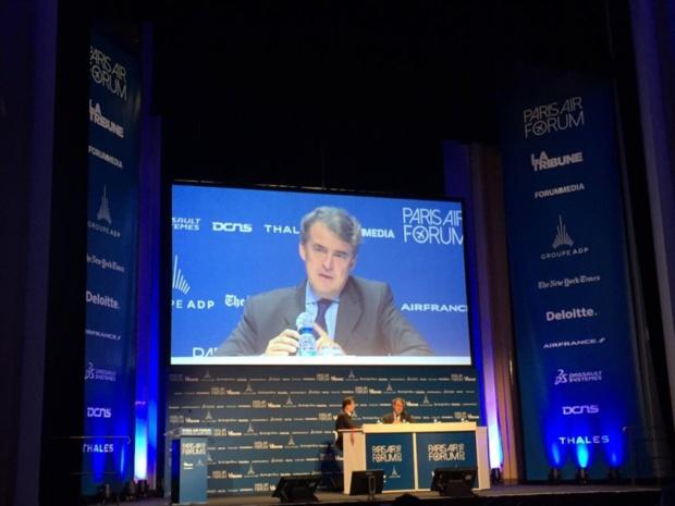Alexandre de Juniac au Paris Air Forum - DR Jean-Charles Tréhan