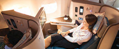 La classe affaires de Sri Lanka Airlines - DR