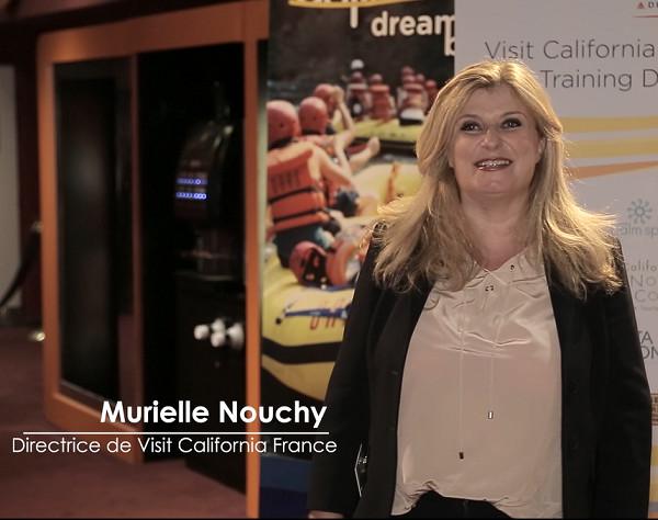 """Murielle Noutchy, directrice de Visit California France a dévoilé la nouvelle marque le """"Club California""""- DR"""