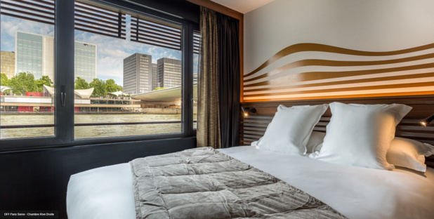 Guests at the OFF Paris will be able to enjoy a panoramic view on the Seine - Photo : OFF Paris
