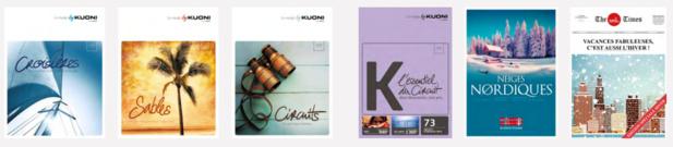L'ensemble de la production de Kuoni France pour 2017 est disponible à la vente - DR : Kuoni France