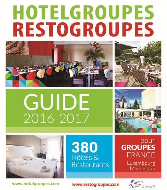 La couverture du Guide 2016-2017 d'Hotelgroupes-Restogroupes - DR