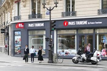 La nouvelle agence France Tourisme situé  l'Opéra à Paris - DR
