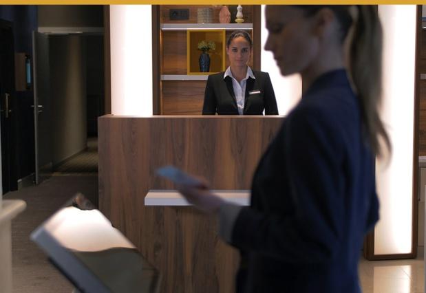 Tabhotel permet à l'hôtel de recentrer son personnel sur la relation humaine pour ainsi améliorer la qualité de l'accueil (c) Tabhotel