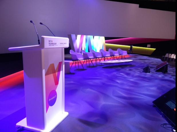 Le salon Viva Technology : Il n'existait pas en France de salon sur le numérique d'une telle ampleur (c) Viva Technology