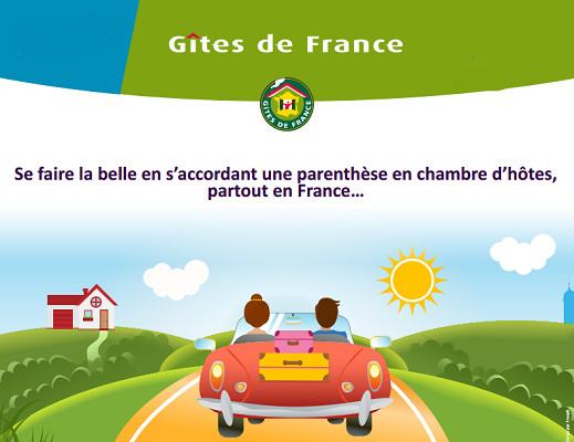 Gîtes de France aide ses clients à dénicher l'adresse qui correspond le mieux à leurs attentes - DR : Gîtes de France