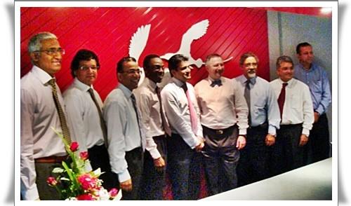 La ''Dream Team'' d'Air Mauritius au grand complet