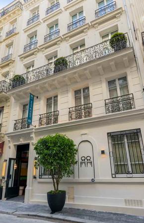 L'Hôtel Adèle & Jules est situé dans le 9e arrondissement de Paris et propose 60 chambres - Photo : Hôtel Adèle & Jules