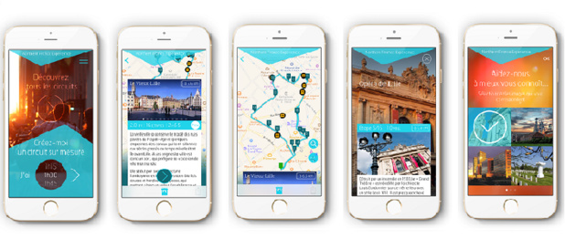 Fettle propose aux touristes un guide d'information sur mobile dont le contenu est totalement personnalisé : la géopersonnalisation des contenus (c) Fettle