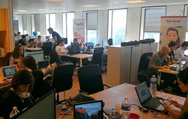 Les nouveaux locaux permettent d'accueillir 3 fois plus de start-up (c) Johanna Gutkind