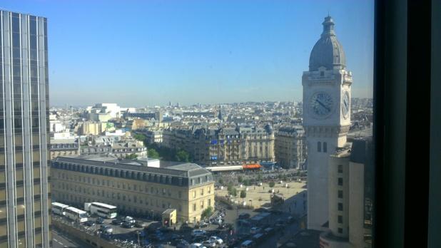Une vue sur la Tour de l'Horloge de la Gare de Lyon (c) Johanna Gutkind