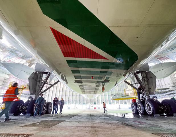 """Les liaisons entre Air France et Alitalia ne sont pas nouvelles. Dès le milieu des années 1970, il existait déjà un accord de """"Pool"""" disons la mise en commun des dépenses et des recettes sur plusieurs dessertes entre les deux pays - Photo Alitalia"""