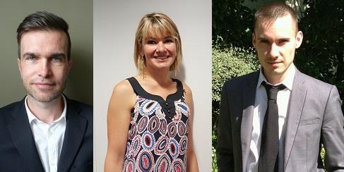 De gauche à droite : Eric Cazeneuve, Frédérique Montagne et Sébastien Da Rocha - Photos : DR