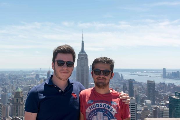 Sébastien (à gauche) et Louis (à droite) les créateurs de Greesme