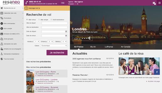 Resaneo est connecté en direct à l'offre Lufthansa via la nouvelle norme NDC, une première en France - DR