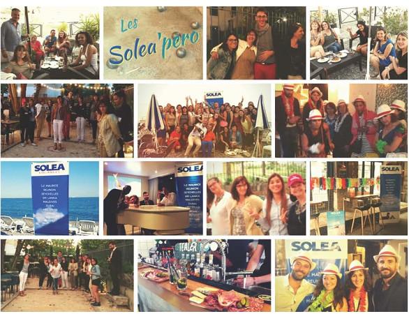Les Solea'Pero ont réuni 170 agents de voyages français dans 6 villes - Photos : Solea Vacances