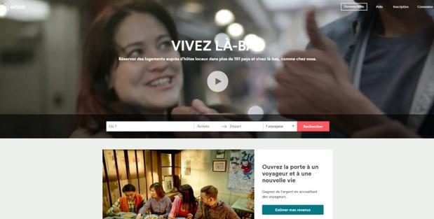 AirBnb organise la 3e édition de son Festival de l'Hospitalité à Los Angeles en novembre 2016 - Capture d'écran