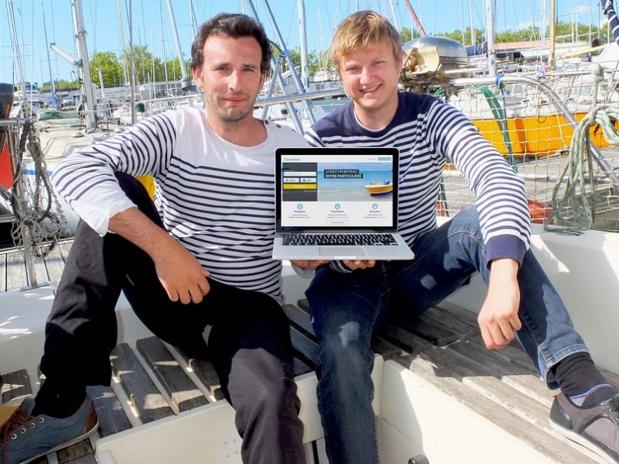 Laurent Calando et Nicolas Cargou, cofondateurs de SamBoat (c) SamBoat