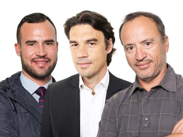 Hervé Josserand, président du Groupe ACTA et Jean et Fabien DA LUZ, co-présidents du Groupe TOURMAG.com - DR