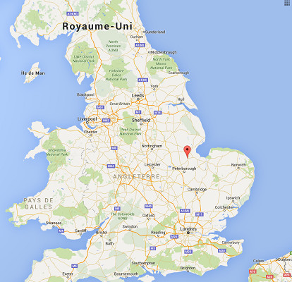 Le fusillade s'est produite à Spalding, dans l'est de l'Angleterre - DR : Google Maps